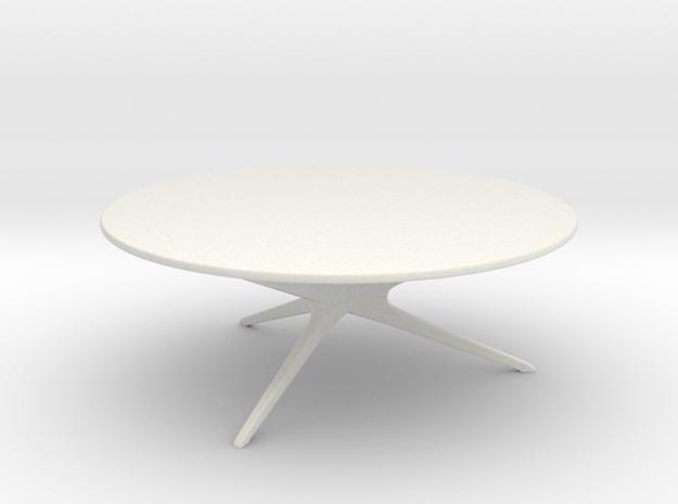 Mid-Century Modern Round Coffee Table 1:24