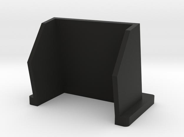 Preston HU-3 Sunshade (10 degree) in Black Natural Versatile Plastic