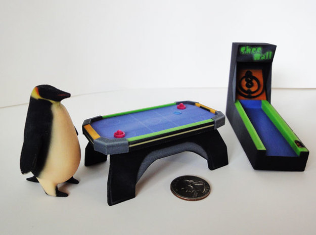 Pedro the Penguin 3d printed