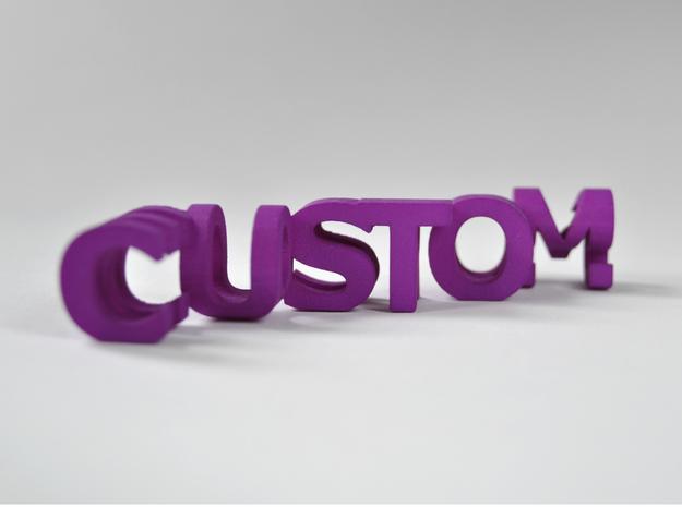 FontFlip (Customizable) in Purple Strong & Flexible Polished