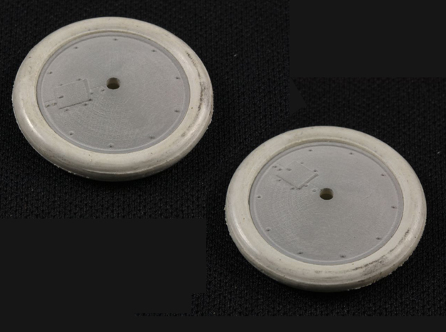 1/32 Albatros Tireless Wheels (2 pack) in Smoothest Fine Detail Plastic