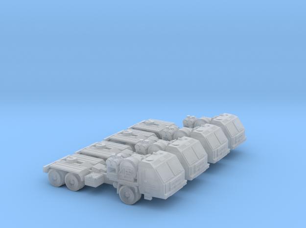 BAZ-64022 Platoon 6mm/1:285 in Smooth Fine Detail Plastic
