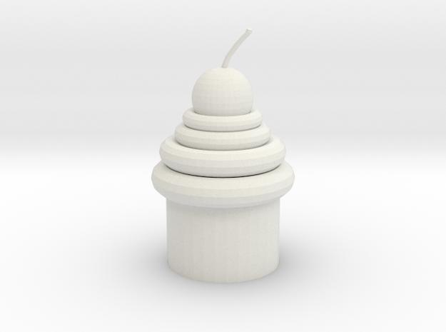 Mirror Cupcake in White Strong & Flexible