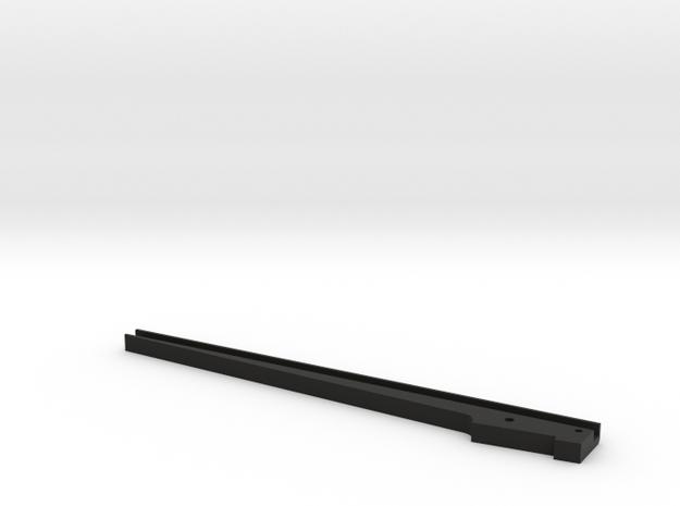 Dimming Screen Post RHS in Black Natural Versatile Plastic