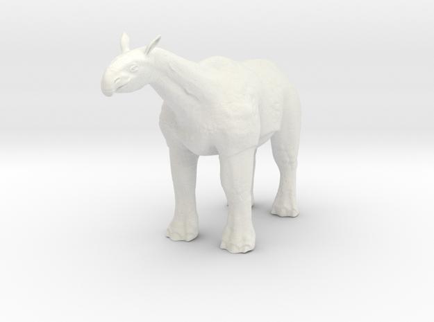 Paraceratherium 1 72(MEST 2015) in White Natural Versatile Plastic