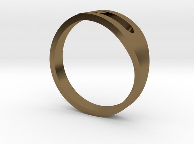 H Ring 3d printed