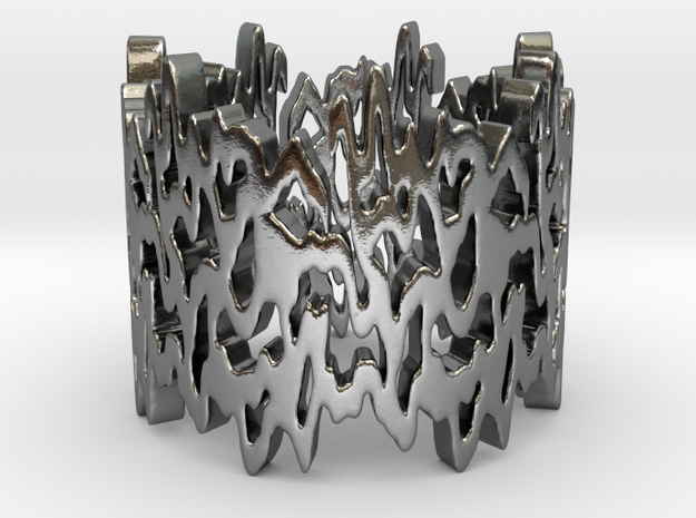 Life line Ring Size 7 3d printed