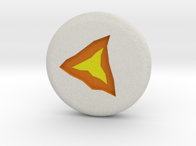 Runescape: Lava Rune in Full Color Sandstone
