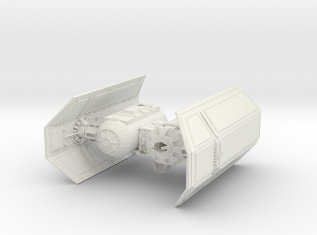 Tie Bomber in White Strong & Flexible