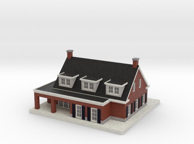 1010008 - Villa Ackerdijkseweg, Delfgauw 1:200 in Full Color Sandstone