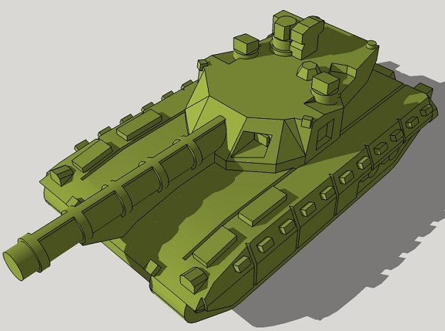 3mm T-14 Armata Main Battle Tanks (24pcs) in Frosted Ultra Detail