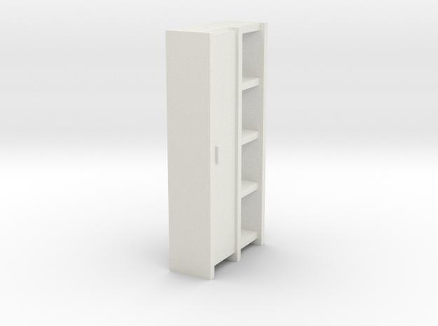 A 004 Schrank cupboard HO 1:87 in White Strong & Flexible