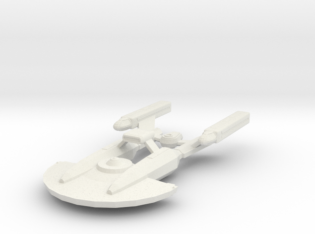 System Fleet NX Escort in White Natural Versatile Plastic