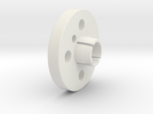 FF-8-003 - Locking Device in White Natural Versatile Plastic