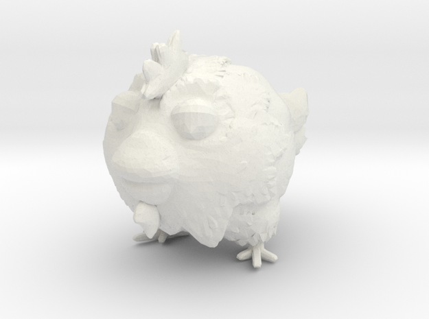 chicken toy in White Strong & Flexible
