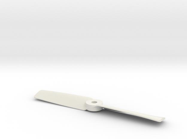 Prop 3 Rechts 5,3 in White Natural Versatile Plastic