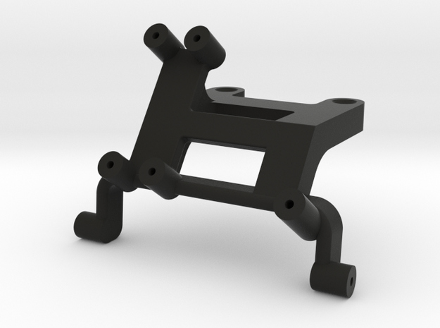 AJ20001 Front Battery Mount Axial (SCX10) in Black Strong & Flexible