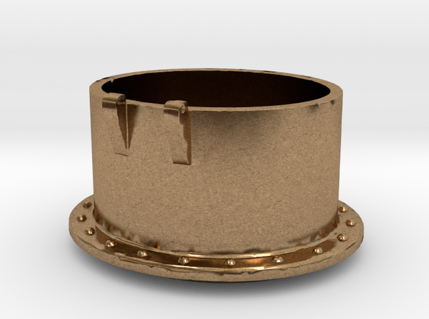 No. 23 Tank Funnel .625 Plus 1% in Natural Brass