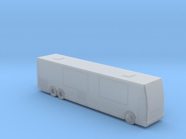 Prevost RV - HOscale in Smooth Fine Detail Plastic