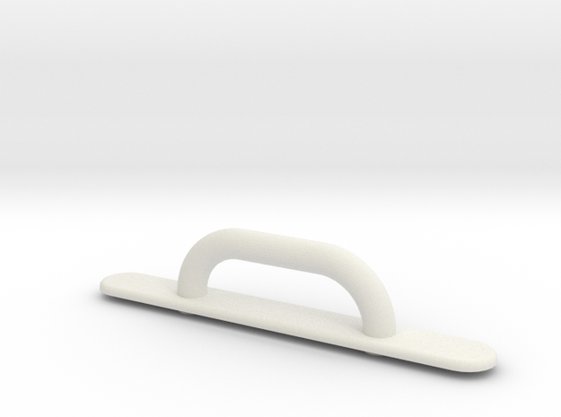 Kayak Deck Loop Fitting in White Strong & Flexible