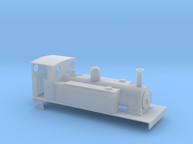 TTn3 CDJR 4-6-0T in Frosted Ultra Detail