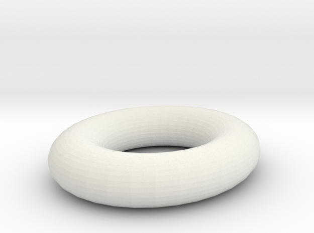 plastic ring in White Strong & Flexible
