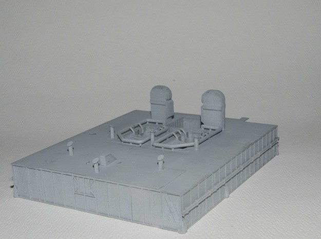 1/144 Shuttle MLP - deck only 3d printed