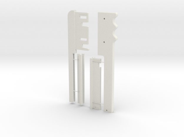 Sonic Beam Weapon (1st shin tool) in White Natural Versatile Plastic
