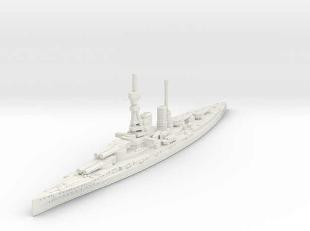 1/2400 KM Mackensen BC in White Natural Versatile Plastic