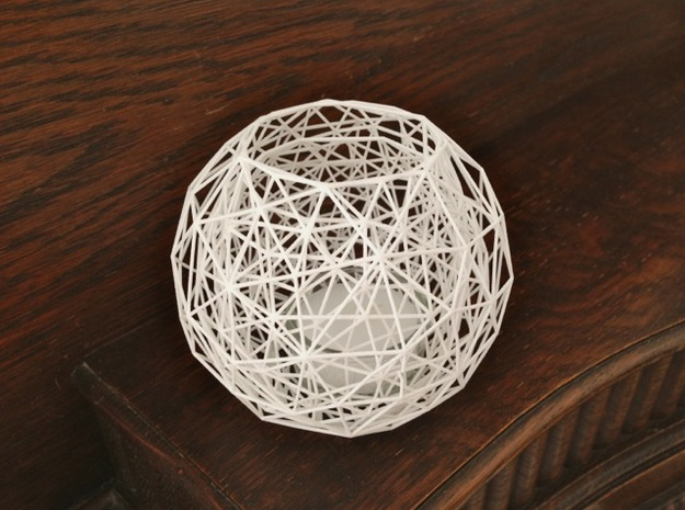 Net - Tea Light in White Strong & Flexible