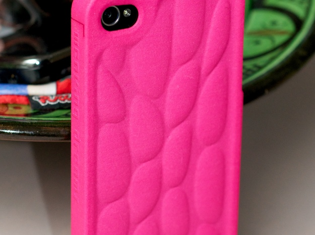 Personalised 3D Smart Phone Art Case. 3d printed Snap fits to phone. Protects from dropping and has anti screen fouling.