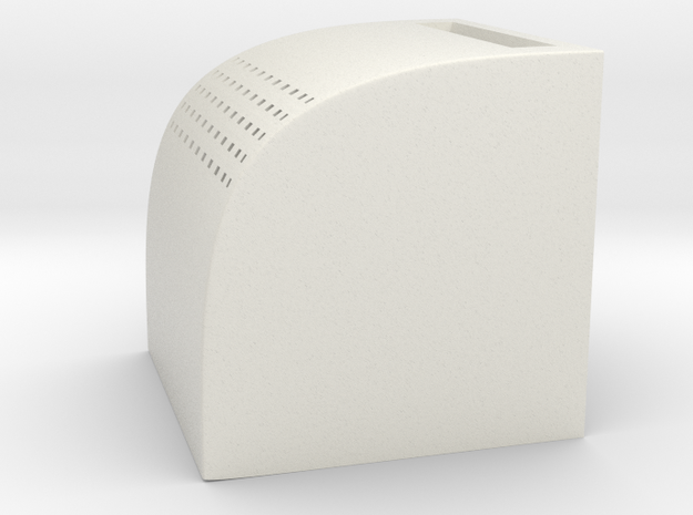 Mini Salt&Pepper Shaker in White Natural Versatile Plastic