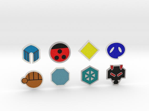 Johto Pokemon Badges