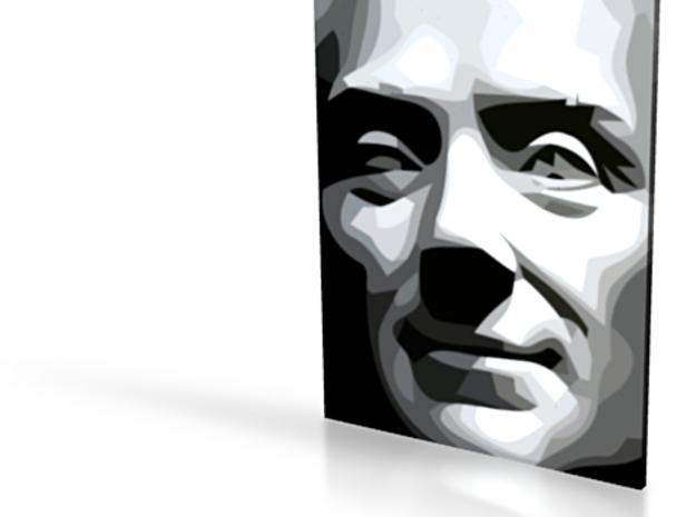 Spirit of Divisionism - flat - 4in 3d printed