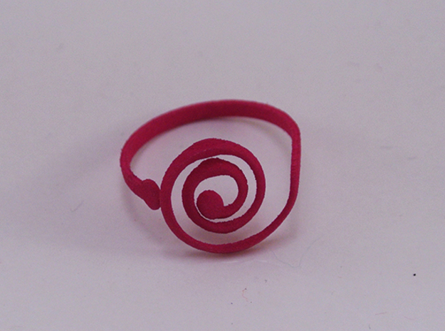 Inspir-al Me Do - Ring - size54 - diam17,2mm in White Natural Versatile Plastic