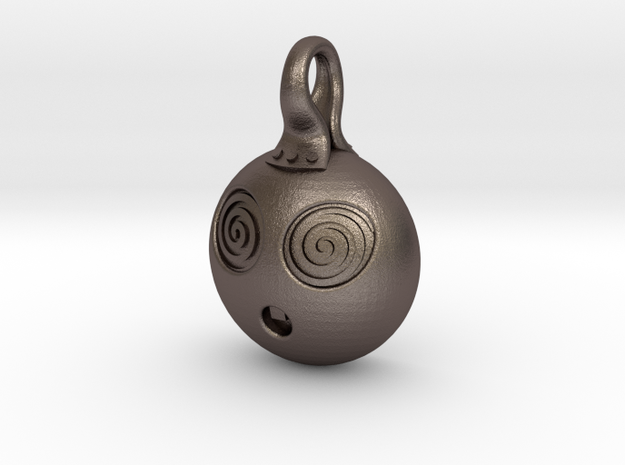 Hypno in Polished Bronzed Silver Steel