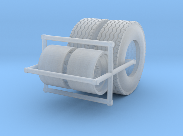 1/64  Floater Wheels and Tires (1 Set)