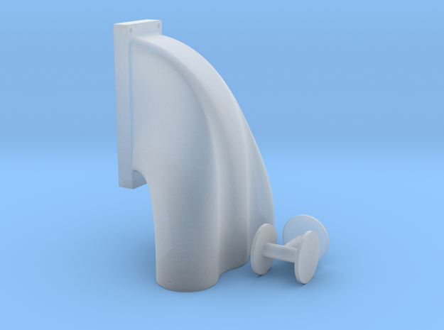1/12 3 Equal Hole Inj Hat for 18-71 Kobelco Blower 3d printed
