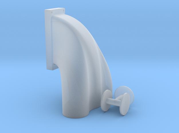 1/12 3 Equal Hole Inj Hat 14-71 Kobelco Blower 3d printed