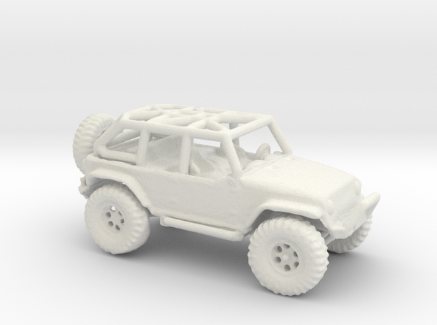 Jeep Rubicon JK 1/100 Scale