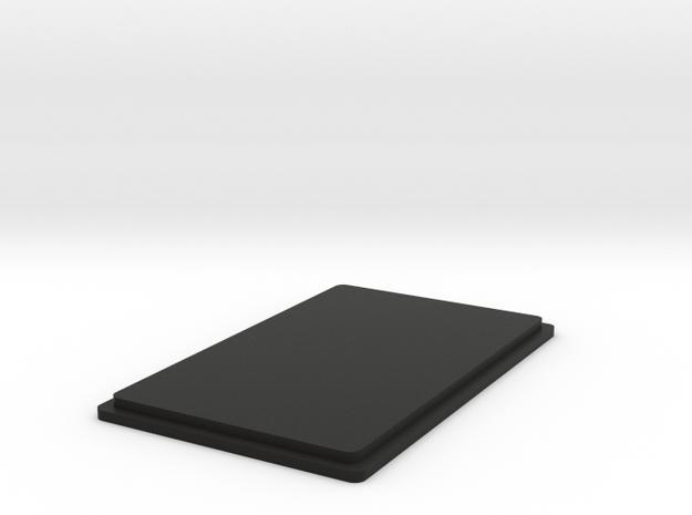 Map Prog Widget Top in Black Natural Versatile Plastic