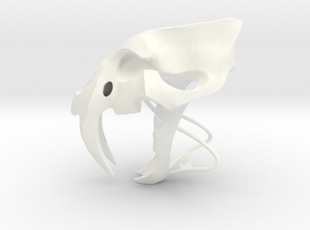 Saber Tooth Smooth 3d printed