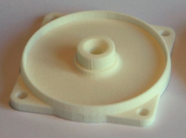 Glow Plug Holder - Base part in White Strong & Flexible