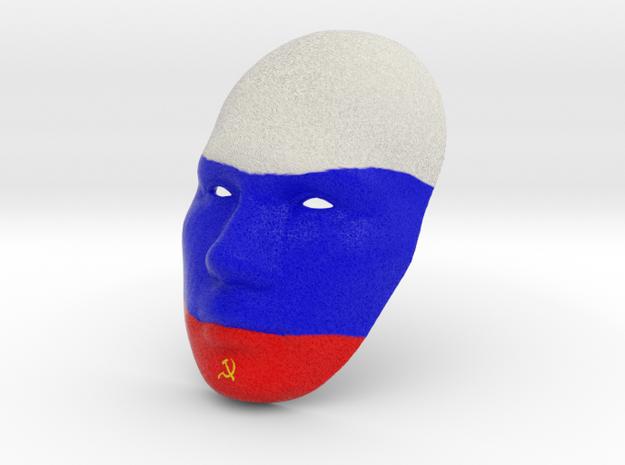 Putin - Mother Russia in Full Color Sandstone
