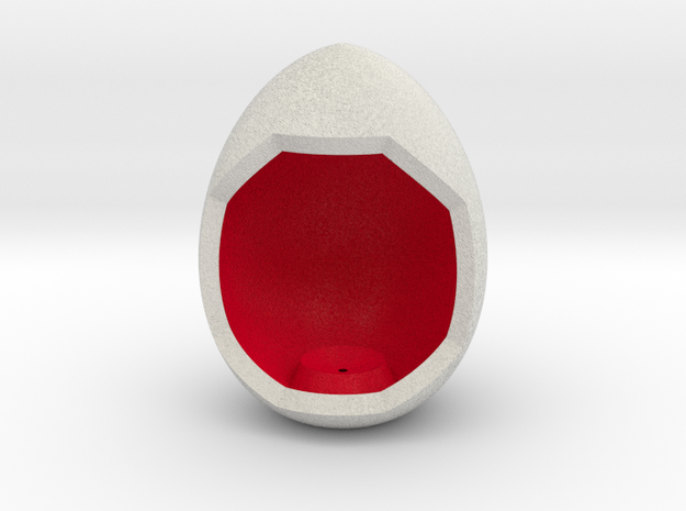LuminOrb 1.1- Egg Stand in Full Color Sandstone