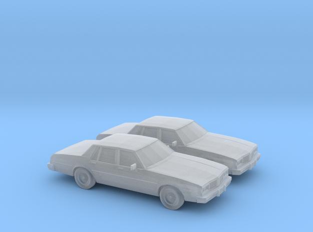 1/160 2X 1980-85 Oldsmobile Delta 88 Sedan