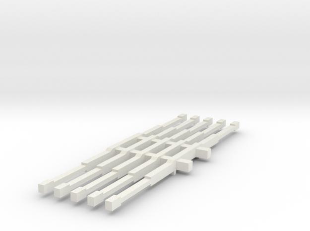 1/64 4wd light bars in White Strong & Flexible
