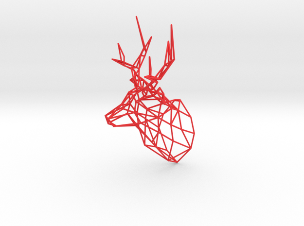 Wired Life Stag,150mm Facing Right 3d printed