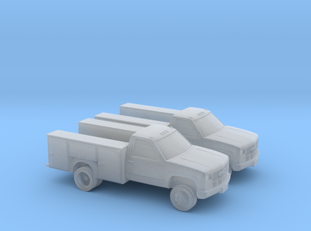1/160 2X GMC Service Truck in Smooth Fine Detail Plastic