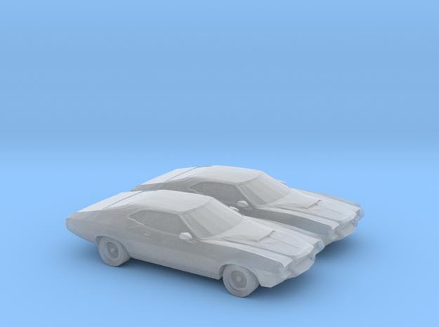 1/160 2X 1972 Ford Gran Torino